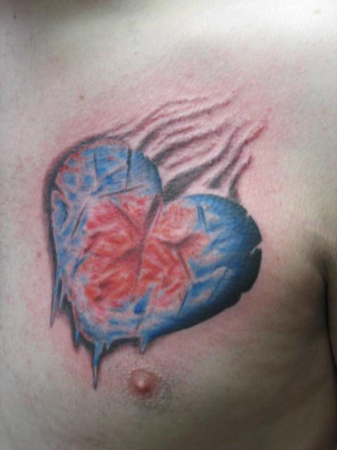 frozen heart the ink captain 39 s tattorium. Black Bedroom Furniture Sets. Home Design Ideas